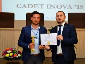 """USV a câștigat Marele premiu al juriului la expoziția de inventică """"Cadet Inova"""""""