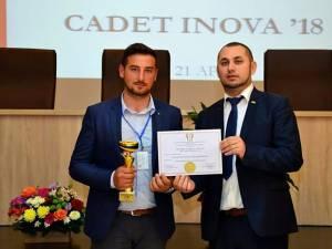 USV a câștigat Marele premiu al juriului la expoziția de inventică Cadet Inova