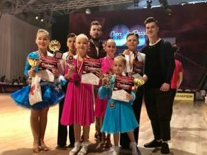 Rezultate remarcabile obținute de sportivii de la Clubul Bucovina Dance Studio Suceava
