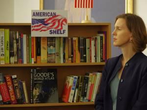 """""""American Shelf"""", în prezența adjunctului șefului Misiunii Diplomatice a SUA în România, Abigail Rupp"""