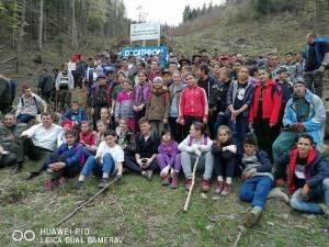 """Școală Gimnazială Stulpicani a participat la acțiunea """"Plantăm astăzi pădurea de mâine"""""""