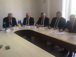 Gheorghe Flutur a participat la şedinţa Euroregiunii Prutul de Sus