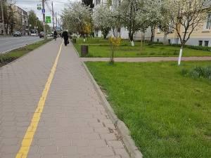 Trotuarele din Suceava vor fi reparate până în 2020 de firma Symmetrica