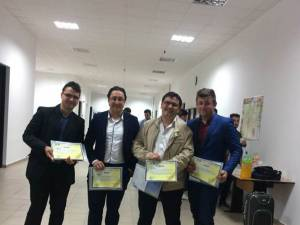 Studentii Facultății de Inginerie Electrică și Știinta Calculatoarelor, premiați la Tâgu Jiu