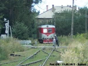 Ultimul tren a trecut prin Rădăuţi pe 15 august 2012. Foto: Paul CFR