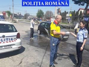 Campanie de prevenire a furturilor a vizat și spălătoriile auto