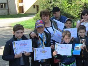Performerii concursului au fost șahiștii din Frumosu conduși de prof. Elvira Istrate