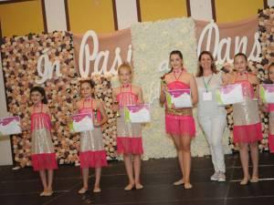 Echipa de gimnastică a Școlii Gimnaziale Nr. 3 Suceava s-a clasat pe prima poziție a podiumului