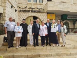 Delegaţia Sucevei prezentă la evenimentul de semnare a înfrăţirii cu oraşul în care s-a născut Hristos