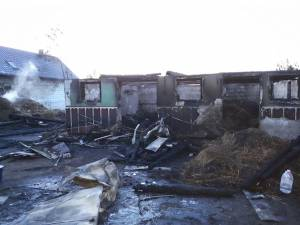 Incendiu puternic, extins la două gospodării, la Costişa - Frătăuţii Noi