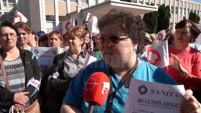 Infirmiera Gabriela Agachi consideră că un salariu net de 3.500 de lei ar fi optim pentru munca depusă
