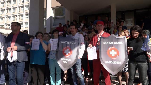 Infirmierele din Spitalul de Urgenţă Suceava ameninţă cu demisia în bloc