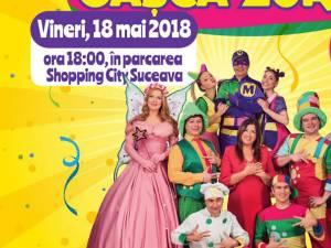 Gaşca Zurli revine la Suceava, la Shopping City