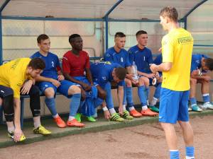Antrenorul-jucător al Bucovinei, Daniel Bălan, speră să-şi mobilizeze elevii în perspectiva meciului de la Roman