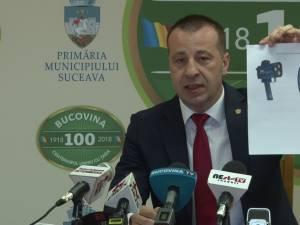 Viceprimarul Harsovschi prezinta noile radare achizitionate