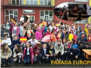 """Ziua Europei, sărbătorită de elevii Şcolii Gimnaziale """"Jean Bart"""""""