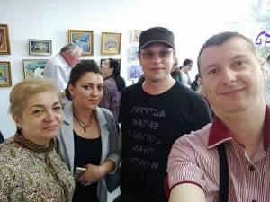 Expoziţia de pictură şi grafică mică - UAPR Suceava