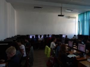"""Peste 80 de elevi suceveni s-au întrecut la Concursul Județean de Informatică """"Centenarul Marii Uniri"""""""