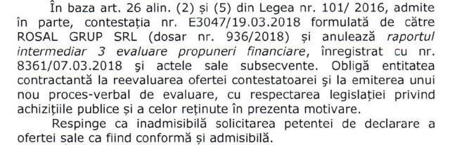 Primăria Suceava contestă în instanţă o decizie CNSC privind licitaţia de salubrizare menajeră