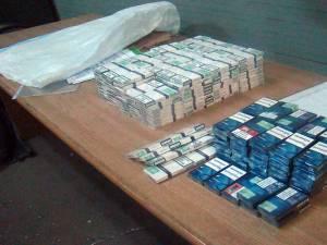 Țigările, în valoare de 1.035 de lei, au fost ridicate în vederea confiscării