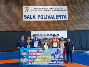 Luptătorii suceveni s-au întors medaliaţi de la Naţionalele Under 23