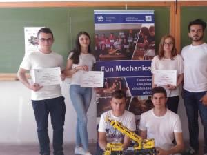 """Concursul de creativitate tehnică """"Fun Mechanics"""", la Universitatea din Suceava"""