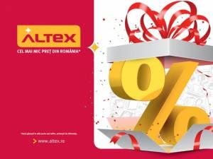 Promoţii speciale, joi, la inaugurarea magazinului Altex din Iulius Mall Suceava