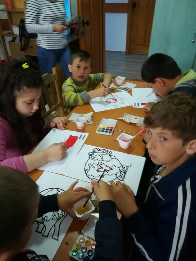 """Activități interactive de Ziua Europei, la Centrul Școlar de Educație Incluzivă """"Sf. Andrei"""""""