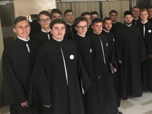 Corul psaltic al Seminarului Teologic Ortodox Mitropolitul Dosoftei din Suceava