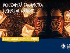 Festivalul Luminii, ediţia a XV-a, duminică, în parcul central al municipiului Suceava