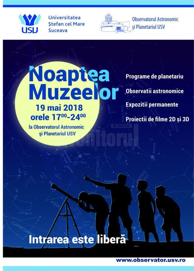 """""""Noaptea muzeelor"""", la Universitatea """"Ştefan cel Mare"""" din Suceava"""