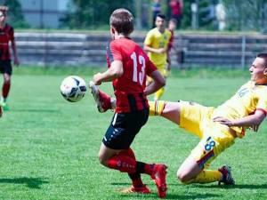 Sebastian Nechita a fost titular în reprezentativa Under 15 a României