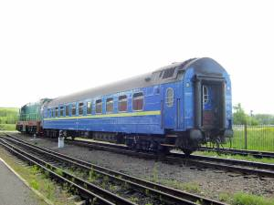 Vagonul de dormit Bucureşti-Kiev
