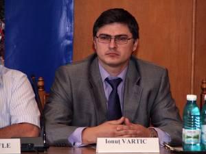 Ionuţ Vartic, fostul şef al Gărzii Financiare Suceava