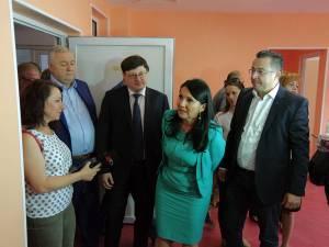 Sorina Pintea a inspectat şantierul noului spital din Fălticeni