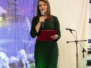 Prof. Loredana Corjuc, director al Şcolii Gimnaziale Ipoteşti