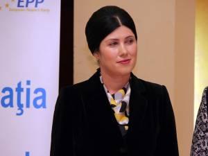 Preşedintele Organizaţiei Femeilor Liberale din judeţul Suceava, Cătălina Culipei