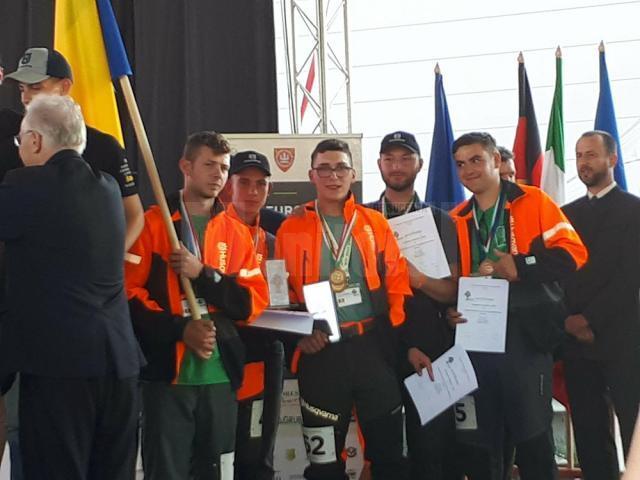 Echipa Colegiului Silvic Câmpulung Moldovenesc