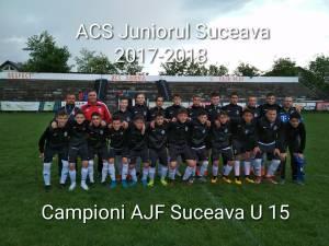 Juniorul Suceava va reprezenta judeţul la turneul zonal