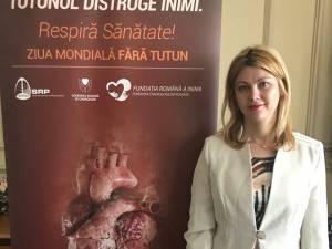Deputatul Maricela Cobuz susţine legislaţia împotriva fumatului