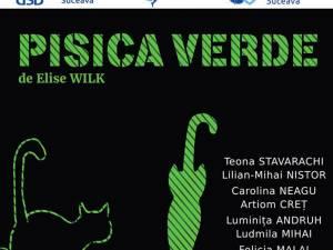 """Spectacolele """"Pisica verde"""" şi """"Cosmic"""", cu intrare gratuită, marţi şi miercuri, la USV"""