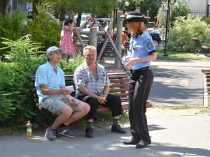 Politia Locală derulează o campanie de informare a cetățenilor cu privire la spațiile de joacă pentru copii (1)