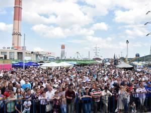 Zilele Sucevei, organizate în parcarea Iulius Mall