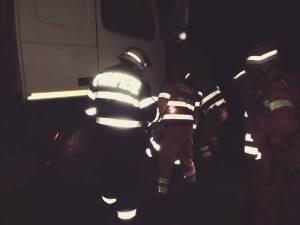 Accident grav, cu un șofer prins sub un trailer, în Pasul Tihuța