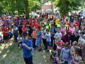 Peste 500 de copii au fost prezenţi la acțiunea de la Bănești