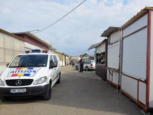Poliţiştii au făcut controale în Bazarul Suceava și au găsit 185 de plase monofilament la o tarabă