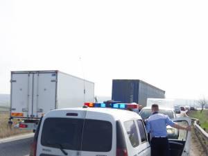 urmarit de masina politiei