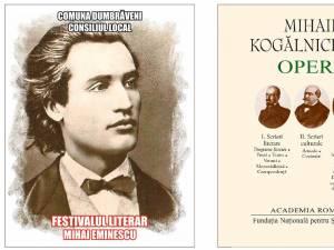 """Manifestări şi participare impresionantă la Festivalul Literar """"Mihai Eminescu"""" de la Dumbrăveni"""