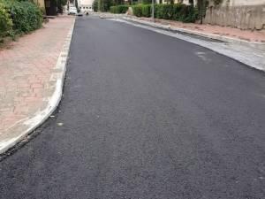 Lucrările de modernizare a străzii Vasile Bumbac, finalizate până la Zilele Sucevei