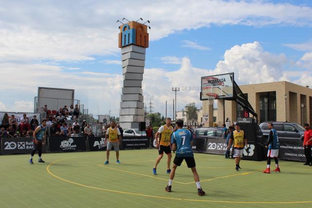 Superbet Castorii Suceava Streetball aduce din nou spectacolul baschetului 3x3 la Iulius Mall